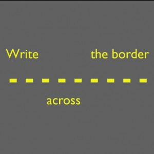 Write Across the Border booklet cover