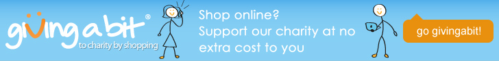 Shop online? Support our charity at no extra cost to you.