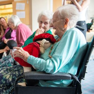 We're bringing creativity into care homes