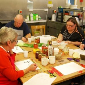 Carers participating in the Around the Table project