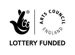Arts Council England Lottery Funded logo