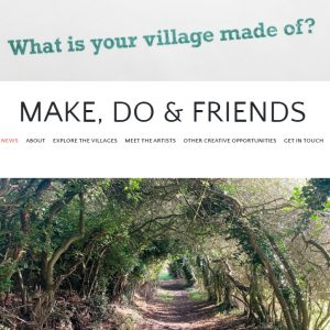 What is your village made of? Make, Do & Friends blog